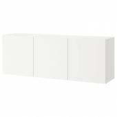 БЕСТО Комбинация настенных шкафов, белый, Лаппвикен белый, 180x42x64 см